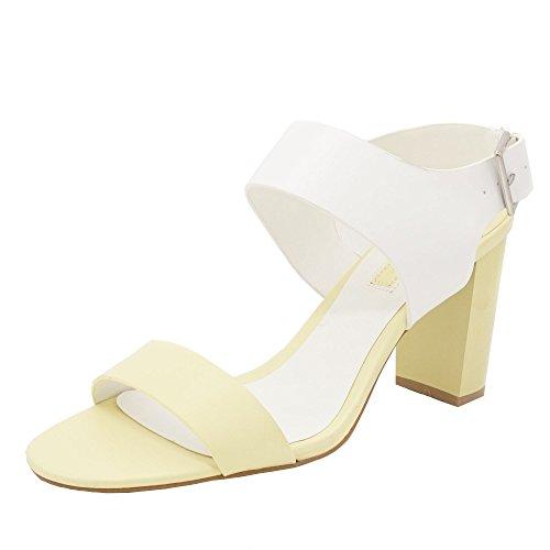 Dorothy Perkins , Sandales pour femme jaune jaune