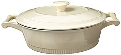 KitchenAid Traditional Cast Iron Casserole Cookware