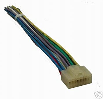31vZ6nXcvFL._SX355_ amazon com alpine 16 pin stereo plug harness alph 16 automotive  at creativeand.co