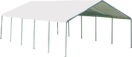 ShelterLogic SuperMax Heavy Duty Steel Frame Quick and Easy Set-Up Canopy 18' x 30'