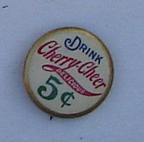 Drink Cherry Cheer 5 Cent Beverage 7/8