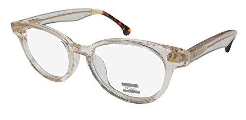 Toms Lula Womens/Ladies Designer Full-rim Eyeglasses/Eyeglass Frame (49-18-144, Crystal / Ivory / - That Sale Toms Stores