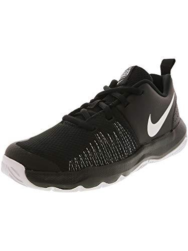 Nike Kids' Preschool Team Hustle Quick Basketball Shoes(Black/White,3,M (US))