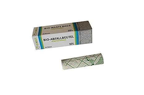 BIO Abfallbeutel 10 Liter KOMPOSTIERBAR (1 Rolle) PGV