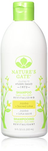Nature's Gate Jojoba Revitalizing Shampoo for Damaged Hair, 18 Ounce