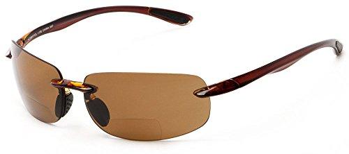 Readers.com The Cedric Polarized Bifocal Sun Reader +2.50...