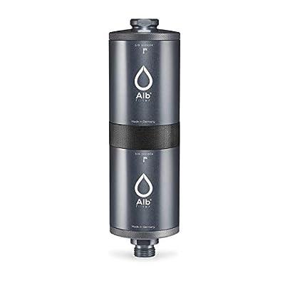 Alb Filter® FUSION Active+Nano Trinkwasserfilter gegen Schadstoffe & Keime | Mobil Gardena Anschluss-Set | Made in…