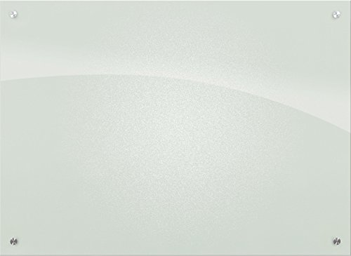 Best-Rite 83950 Enlighten Glass Dry Erase Whiteboard, Frosted Pearl 1/8 inch Tempered Glass, 2 x 3 Feet