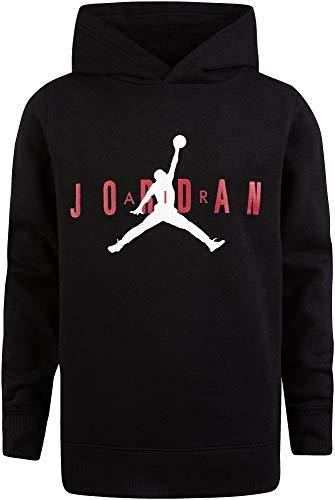 Jordan Boy's Air Fleece Hoodie (M, Black)