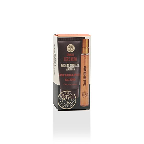 Pepe Nero Black Pepper After Shave Balm Anti-Age and Eau de Parfum Gift