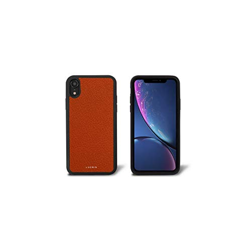 ❥ Lucrin - iPhone XR Cover - Orange - Goat Leather orange iphone xr case 8