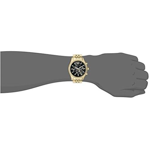 Michael Kors Men's Lexington Gold-Tone Watch MK8286