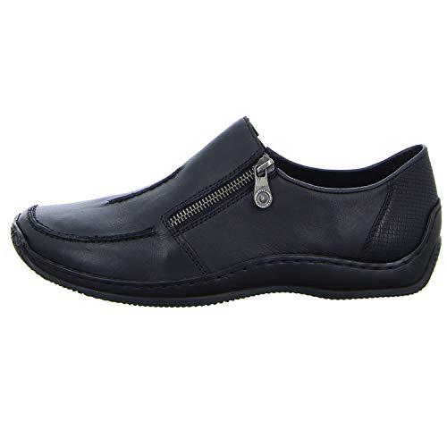 00 Shoe Black Womens L1780 Rieker w8z1XqOtt