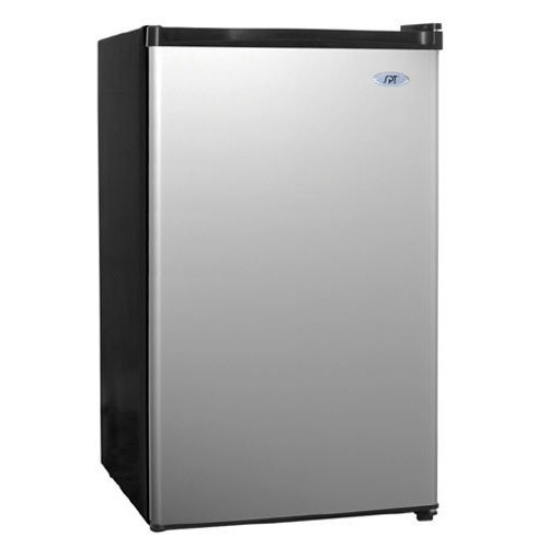 Sunpentown RF-440S 4-2/5-Cubic-Foot Compact Refrigerator, Stainless