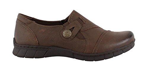 Earth Origins Women's, Norah Slip on Shoes (9 W, Bark)