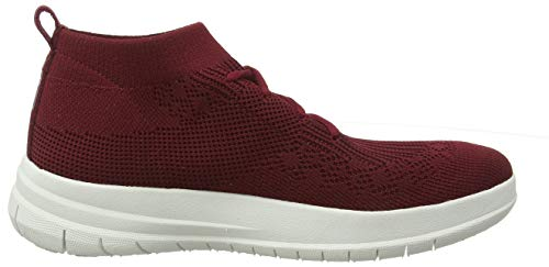 Rosso High Top Uberknit Sneaker Slip on berry 620 Fitflop Alto Collo Donna Aqz4awqW