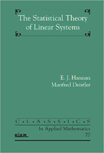 The Statistical Theory of Linear Systems (Classics in Applied Mathematics)