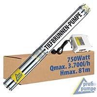 "BOMBA SUMERGIBLE PARA POZO PROFUNDO 3"" 750 Watt - BOMBA SUMERGIBLE PARA POZOS PROFUNDOS Fuente-Star-750-2 / BOMBA SUMERGIDA PARA POZO PROFUNDO bomba para pozos RESISTENTE A ARENA bomba sumergible acero inoxidable BOMBA SUMERGIDA POZO"