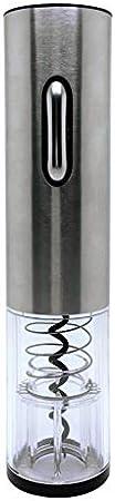 QTQHOME Inalámbrico Botella de Vino eléctrica Abrebotellas,Un Solo Clic Eléctrico Botella de Vino abridor Banda Carga Base con Oferta-A 4x25cm(2x10inch)