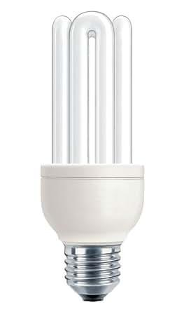 Philips 80108110 Genie - Bombilla de bajo consumo, luz del día (E27, 18 W/865)