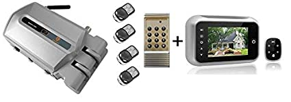 Pack cerradura electrónica de seguridad invisible mas ...