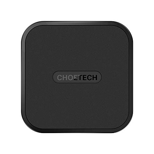 CHOETECH Wireless Charger, USB Type C Wireless Charging Pad Compatible with iPhone 11/11 Pro/11 Pro Max/Xs/XS Max/XR/X/8/8 Plus,Samsung Galaxy Note ...