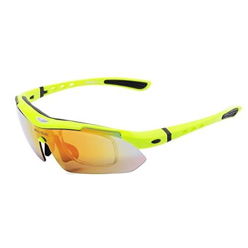 SaySure-Eyewear Lunettes de soleil de vélo pour vélo vélo Cyclisme oLBe37