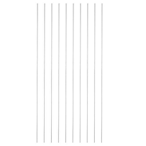 10pcs 2x1000mm Low Temperature Aluminum Welding Brazing Rods Soldering Repair Wires