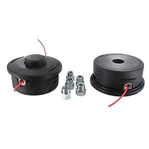Cabezal de nylon 25-2 desbrozadora universal con adaptadores de ...