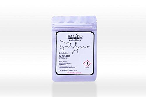 RU58841 | Raw Active Powder | 5 Grams | Plus 99 Percent Purity