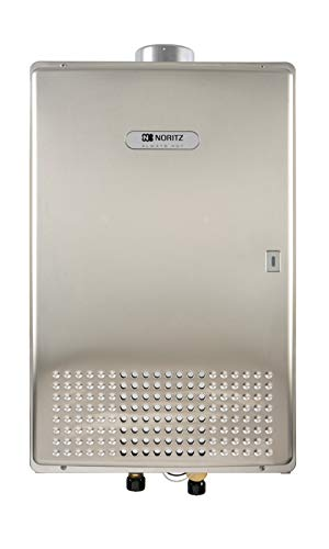 Noritz NC380SVNG Commercial Indoor/Outdoor Tankless Water Heater, max. 380,000 Btuh, 13.2 GPM, ASME stainless steel - Natural Gas
