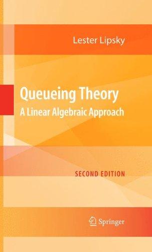 Queueing Theory: A Linear Algebraic Approach