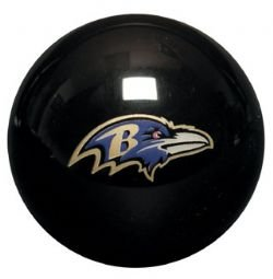 NFL Baltimore Ravens Billiards Ball Set by Imperial