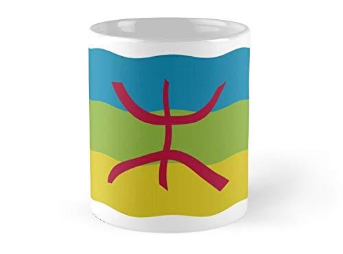 Amazigh Flag Mug - 11oz Mug - Made from Ceramic