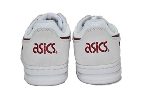 Asics burgundy Sneaker Asics Uomo Sneaker White Uomo burgundy White UOtqC