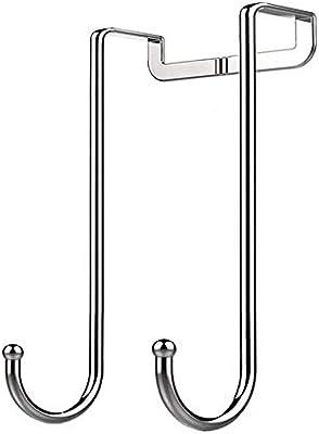 Amazon.com: HJKK 304 - Gancho doble para puerta (acero ...