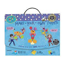 Made By Hands Make Your Own Puppets DIY Puppet Making - Craft Kit for Age 4 Years and -