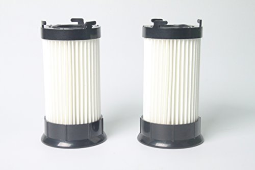 LTWHOME Replacement Washable Vacuum Filters Fit for Eureka DCF4 DCF18 GE DCF1 Vacuum Cleaner, Compare to part # 62132 63073 61770 3690 18505 28608-1 28608B-1 (Pack of 2) -
