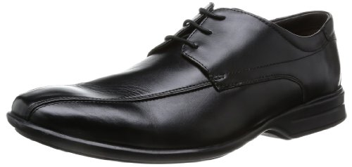 Clarks Gadwell Over 20355018 Herren Oxfords Schwarz (Black Leather)