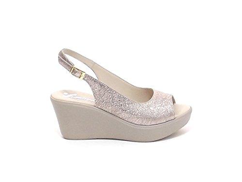Susimoda , Damen Sandalen beige Champane