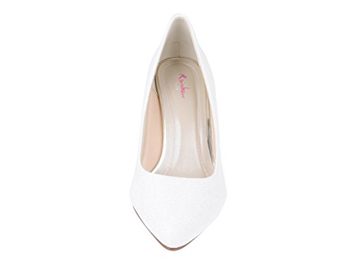 white Weiß white Ivory Brooke Rainbow Ivory Off Creme Weiß Women's Court Club Metallic Shoes Metal Creme off Metallic z6BwI