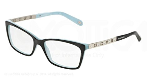 Tiffany & Co Women's Eyeglasses TF2103B TF/2103/B 8134 Havana Optical Frame - Glass Tiffany Frames