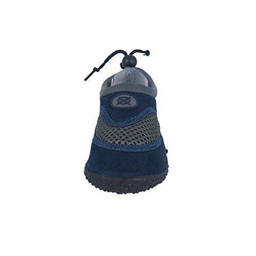 Axim Aquaschuhe Surfschuhe Seeigel fur Jungen und Herren M Badeschuhe Beachschuhe (11444) (30-18,4cm, Marineblau)