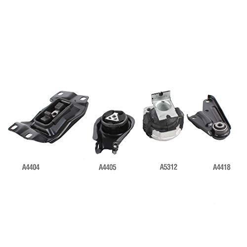 DNJ MMK1045 Complete Engine Motor & Transmission Mount kit for 2004-2009 / Mazda / 3/2.0L, 2.3L
