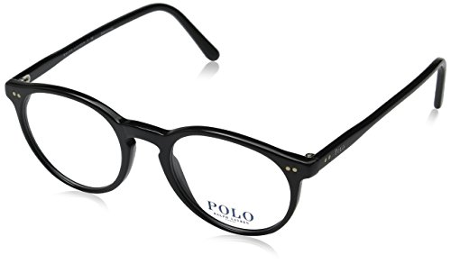 Polo Men's PH2083 Eyeglasses Shiny Black - Glasses Polo Men