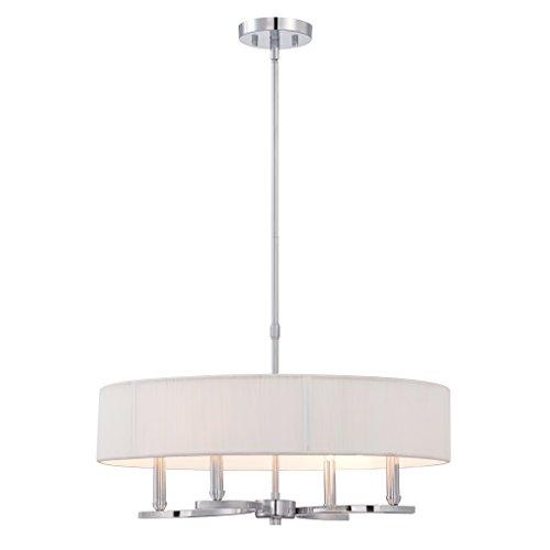 - Eurofase 28067-016 Modern Kennedy 4-Light Pendant, Chrome