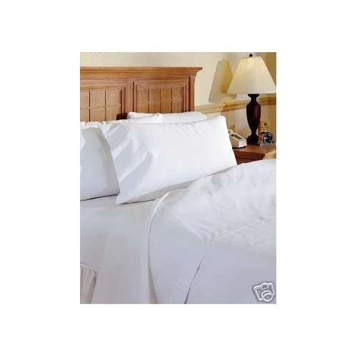Viceroybedding 100% Egyptian Cotton Fitted Sheet, White, Small Single 400  Thread Count