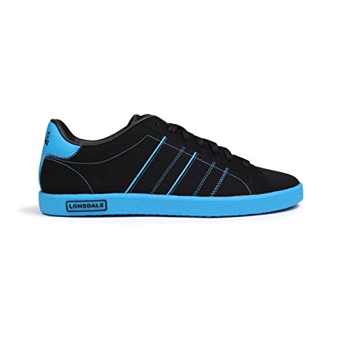 Homme Noir Baskets Mode Bleu pour LL TxS0qw