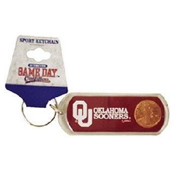 NCAA Oklahoma Sooners Lucite Lucky Penny Keychain