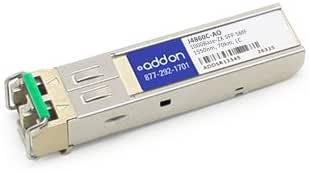 ADDON J4860C-AO 1000BASE-ZX SFP SMF LC F//HP 1550NM 70KM 100/% COMPATIBLE